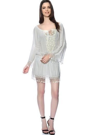 Lovecat Mini Abiye Elbise Beyaz